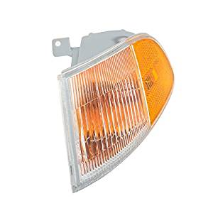 CarPartsDepot Fit 1992-1995 Honda Civic Coupe Front Facial Corner Light Lamp Driver HO2530115
