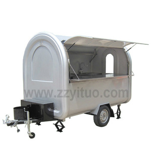YT-FR220D Zhengzhou Yituo Mobile Food Concession Trailer/Coffee Food Van