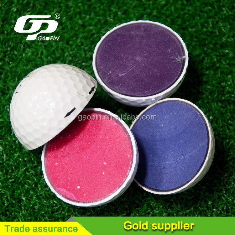 Good quality colorful 3 piece driving range golf ball