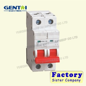 2P 20A C type 240V/415V C45 MINI CIRCUIT BREAKER/MCB 2P/electrical mccb