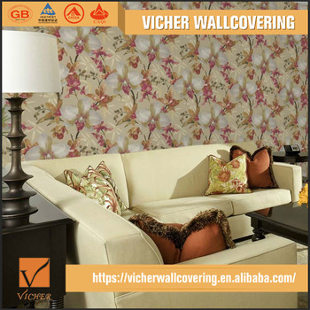 Latest Design Living Room Sitting Room Wall Flower Pattern Royal Wallpaper Design Buy Royal Wallpaper Design Customized Royal Wallpaper Design Oem