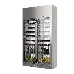 High Quality Dual Temperature Wine Glass Cooler Fridge