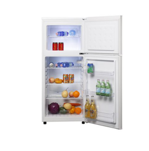 double door fridge 2 door mini fridge compressor refrigerator good quality with refrigerate and frozen