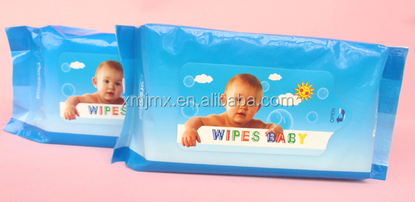 Disposible Softly non alcohol wet wipes Alcohol free wholesale