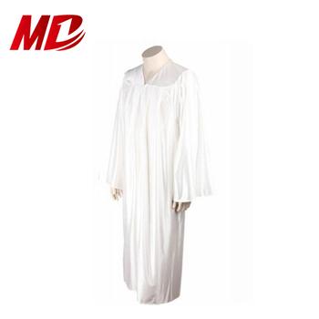 e7b803aa020 White Graduation Toga With Cap Shiny - Buy Graduation Gown