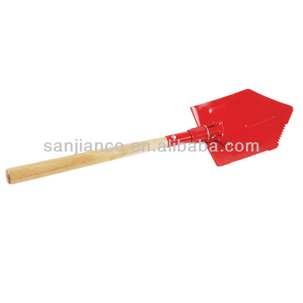 short handle shovel with wooden handle Model SJ-MS039A