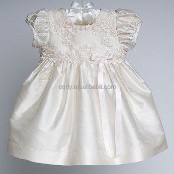 da662dfcc Baby Girls Christening Gown Dresses Vestidos Infant Princess Wedding Party Lace  Baby Girl Birthday Dress for