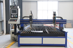 Factory Price! CNC Plasma and Flame Cutting Machine 1325 for stainless steel, aluminum, copper, etc.
