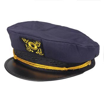 fbd2132ec Custom captain hats cap, View captain hat, XHY Product Details from  Shenzhen Xinhongyuan Fashion Dress Co., Ltd. on Alibaba.com