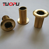 High quality hot sale marine or yacht water bronze rudder port copper brass thru hull fittings