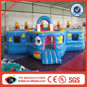 Factory price multi function cheap inflatable playground on sale