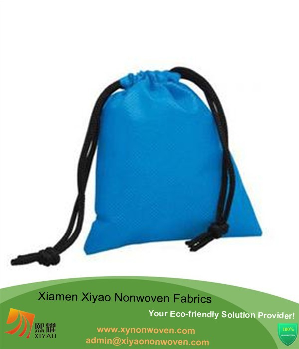 Good quality drawstring bag cheap nylon foldable shopping bag