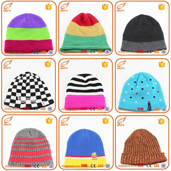 Custom different types of womans knit winter hats jamaica knitted rasta hat 576ce7b03e1