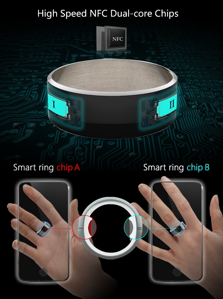Wholesale JAKCOM R3F Smart Ring Consumer Electronics Mobile Phone Accessories 2018 Trending Android Smart Watch Phone Smartwatch