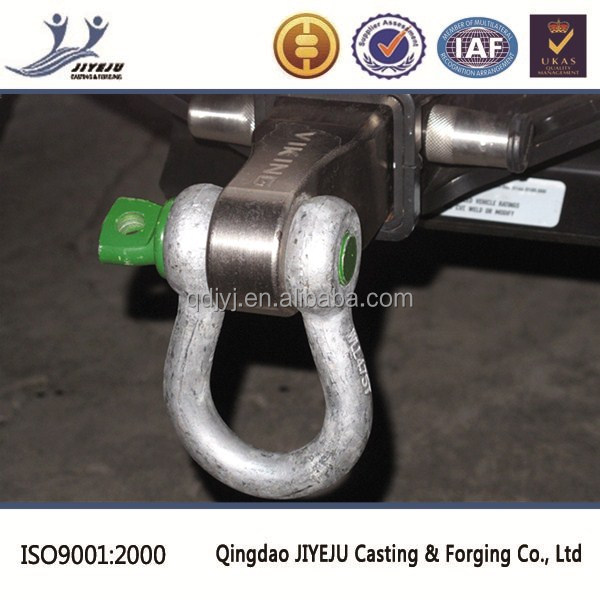 Made in Qingdao rigging hardware US type carbon steel clevis shackle