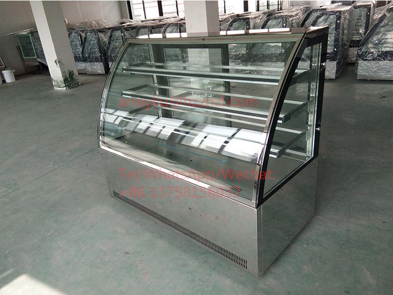 Mini Kühlschrank Für Kuchen : Bäckerei kuchen schaufenster mini gebogene glas display