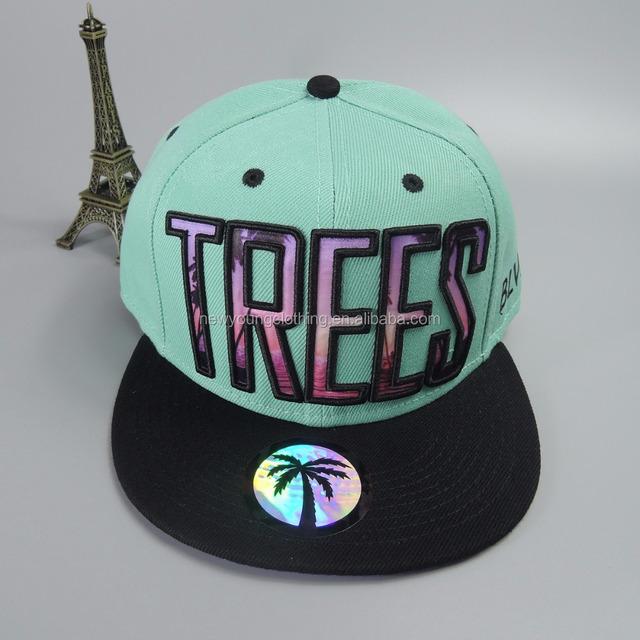 b42bc7027718b Custom acrylic sublimation print logo 3D embroidery baseball snapback cap  and hat