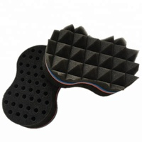 Sponge hair roller/hair removal sponge / hair comb factory supplied magic hair twist sponge Brush
