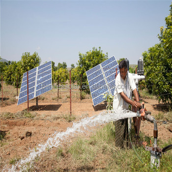 High Power Solar Power Water Pump System For Irrigation