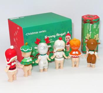 wholesale sonny angel mini pvc animated christmas figures toy figurines