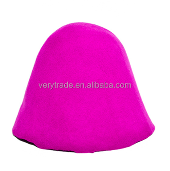 efd9cb96f1e Wool Felt Cone Cloche Hood Millinery Hats Fascinators Block Base felt hat  bodies