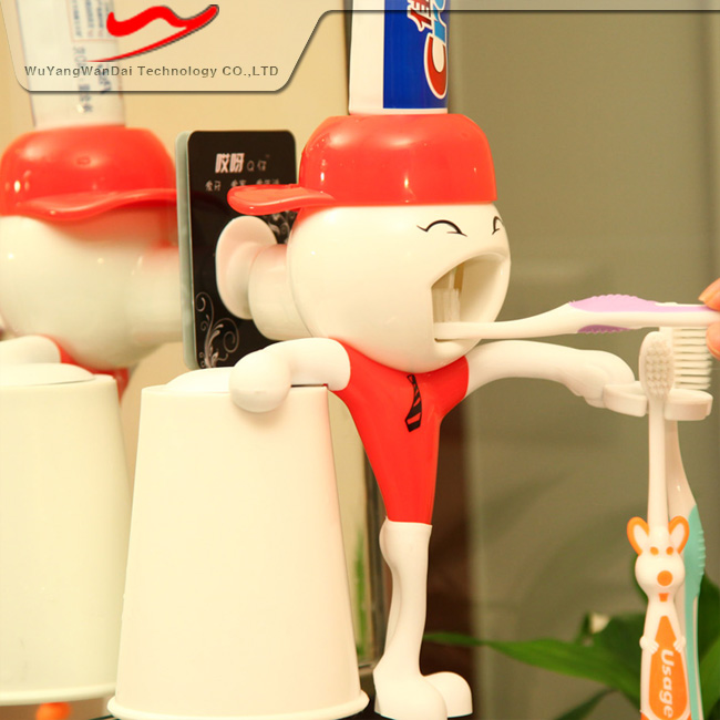 Children Automatic Toothpaste Dispenser Barthroom Set As The Best Selling Souvenirs Gifts