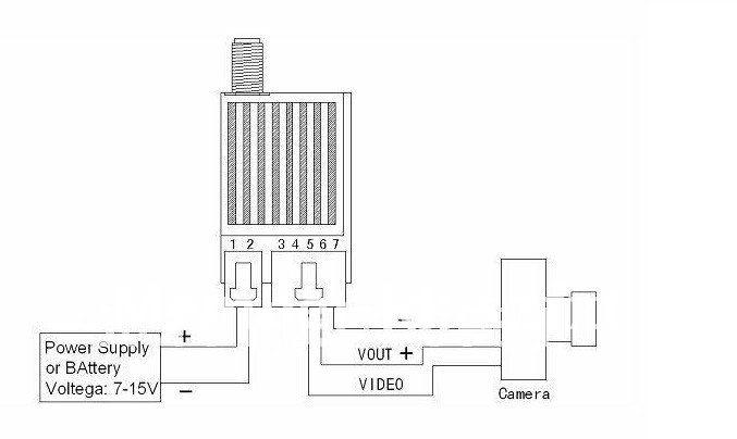 Long Range Audio Video Transmitter Receiver RF Wireless 5 8G 2 Watt Video  Transmitter Receiver For RC Quadcopters, View long range audio video