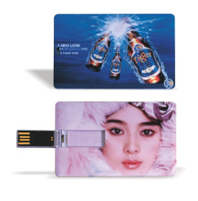 Blank Credit Card USB Style 2GB 4GB 8GB 16GB 32GB USB Flash Drive 2.0 Silm For Office Bank For Print Your Own Logo