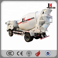 4m3 5m3 6m3 mobile small mini concrete mixer truck cement truck mixer for sale