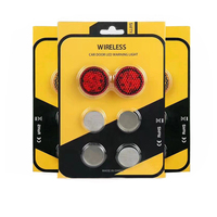 new product wireless design led car door open warning light