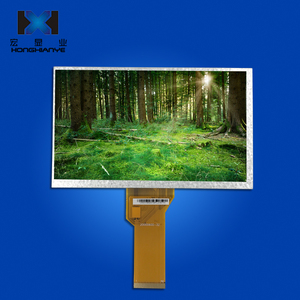 AT070TN92 China supplier 7.0 inch tft lcd module 800*480 6 oclock viewing angle display screen