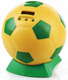 Digital soccer ball counting USA coin bank Money box with lock and key for gifts