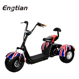 China Supplier 1000W Electric Scooter Price Adult 3 Wheel Electric Mobility Tricycle