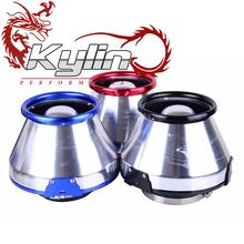 Kylin Racing Universal turbo high flow cone-shaped filter racing cold apc air intakes aluminum air filter