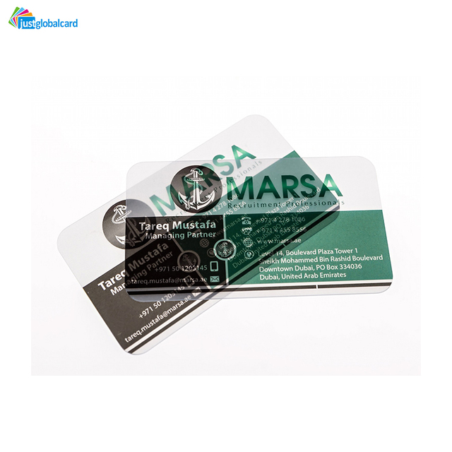 Buy cheap china hologram business cards india products find china factory supply design and print custom design transparent plastic business card reheart Images