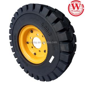 mining machine 5 00x8 6 50x10 18x7-8 7 00-15 7 00-9 forklift tire 7 00x12  solid