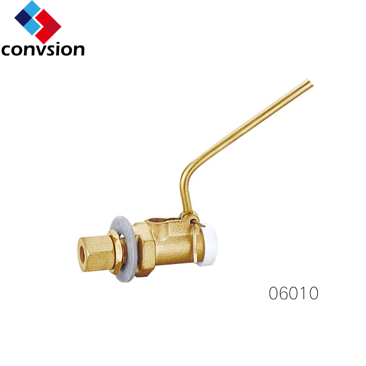 water level float valve articulated brass float ball valve for water