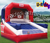 open air shooting competition Inflatable basketball game for playground