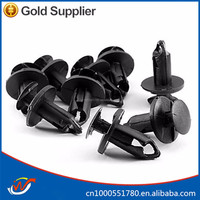 plastic car auto parts processing bumper clip machine parts