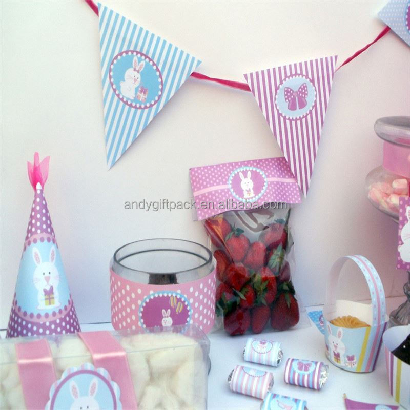 paper product printed paper party sets girls party printed paper party sets