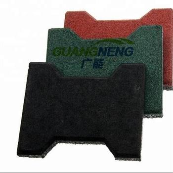 Interlocking Rubber Gym Flooring Tiles