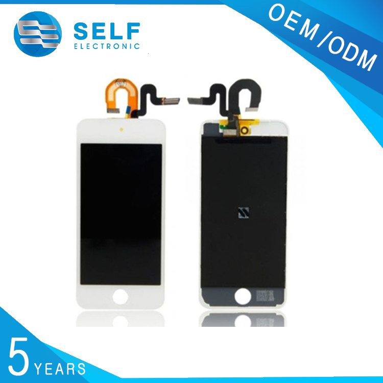 White Replacement Screen for Apple iPod Touch 5th Gen Glass, Digitizer & LCD