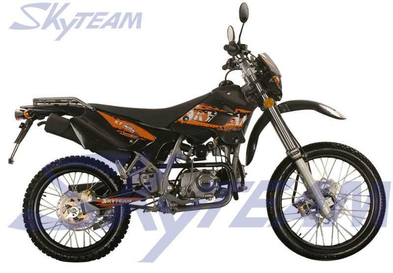 skyteam 50cc 4 temps enduro trail moto v lo approbation cee scooters 50cc id de produit. Black Bedroom Furniture Sets. Home Design Ideas