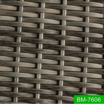 Hot Sale Mixed Colors Plastic Rattan Woven Furniture Outdoor PE Rattan  Material