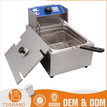 custom chicken potato used commercial electric deep fryer
