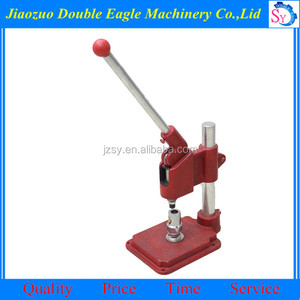 Factory supply Multifunction Handle Pin Badge Machine/button maker machine