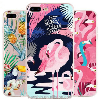 Unique Custom Painting DIY TPU Phone Cases Cover for iPhone 7 7Plus