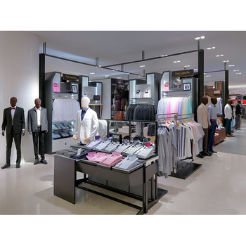 Most Popular Professional Clothing Display Kiosk For Mall