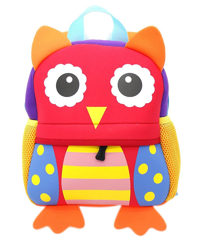 51cd2903cd8d Get Quotations · Shinybaby Little Kids Backpack 3D Animal Cartoon  Waterproof Preschool Lunch Bag for Toddlers