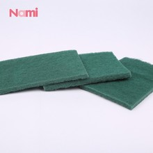 China Kitchen Cleaning Stainless Steel Sponge Dish Scrubber Green Scouring Pads